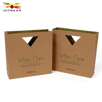 Kraft paper bag without handle