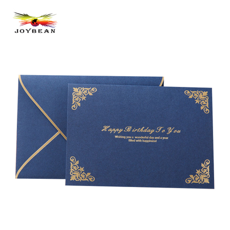 Business paper envelope invitation