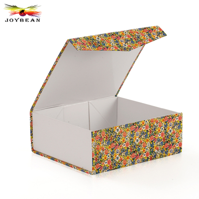 Magnetic luxury folding paper box