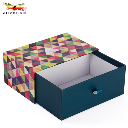 Cardboard drawer paper box